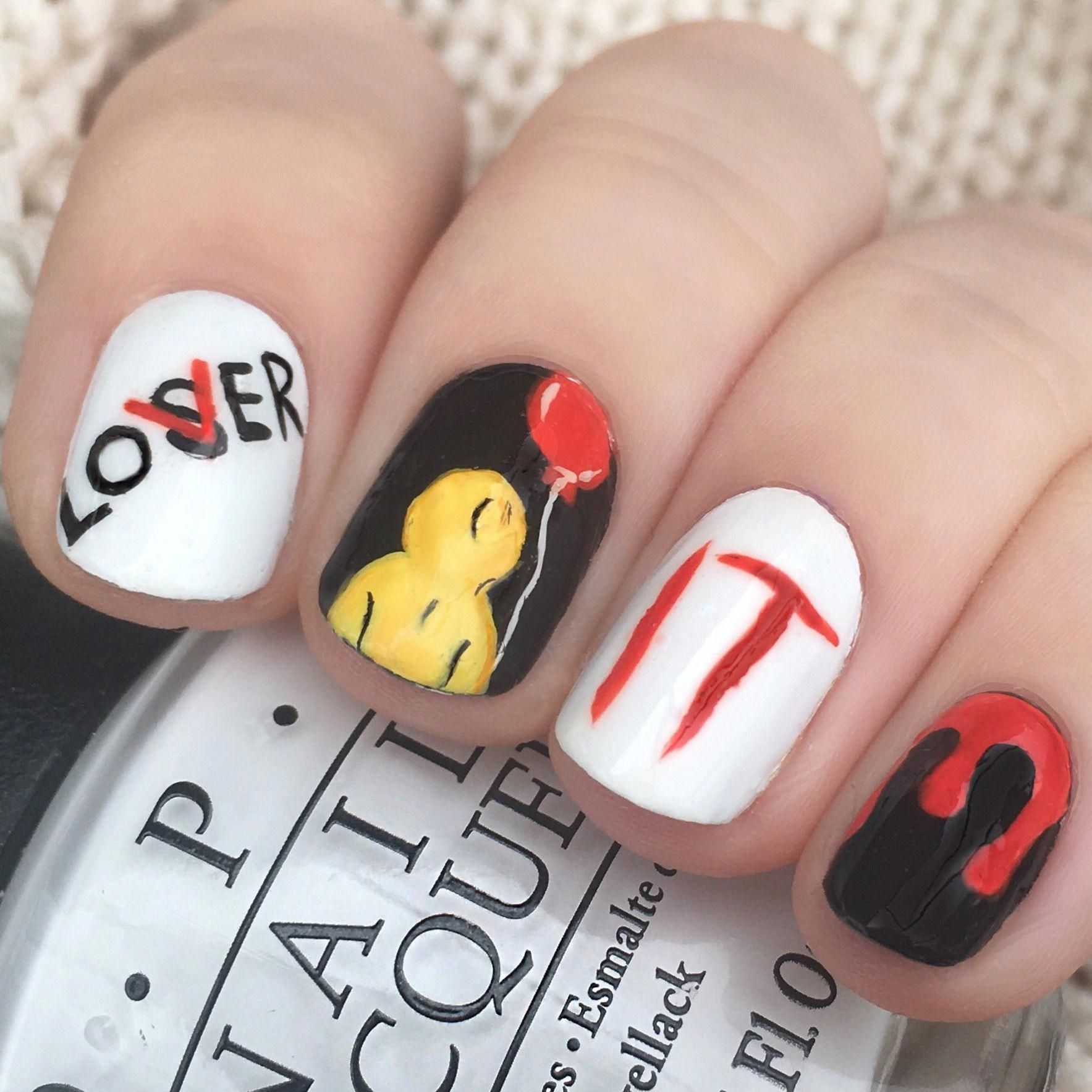 Pin by Dorian Kinley on Nails in 2020 | Horror nails ...
