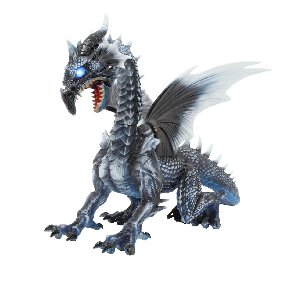 Home Accents Holiday 69 in. Limited Edition Realistic Wind Dragon ...