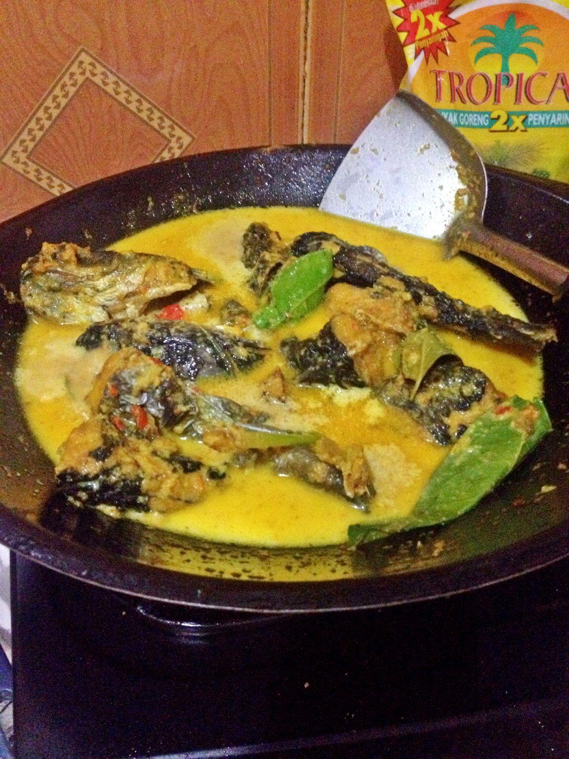 Resep Mangut Ikan : resep, mangut, Mangut, Patin, Makanan,