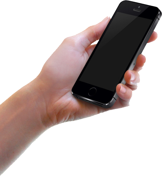 Phone In Hand Png Image Phone Iphone Hands