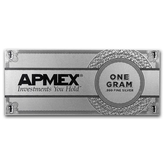 1 Gram Silver Note Apmex Eagle Design Eagle Design Silver Sell Silver