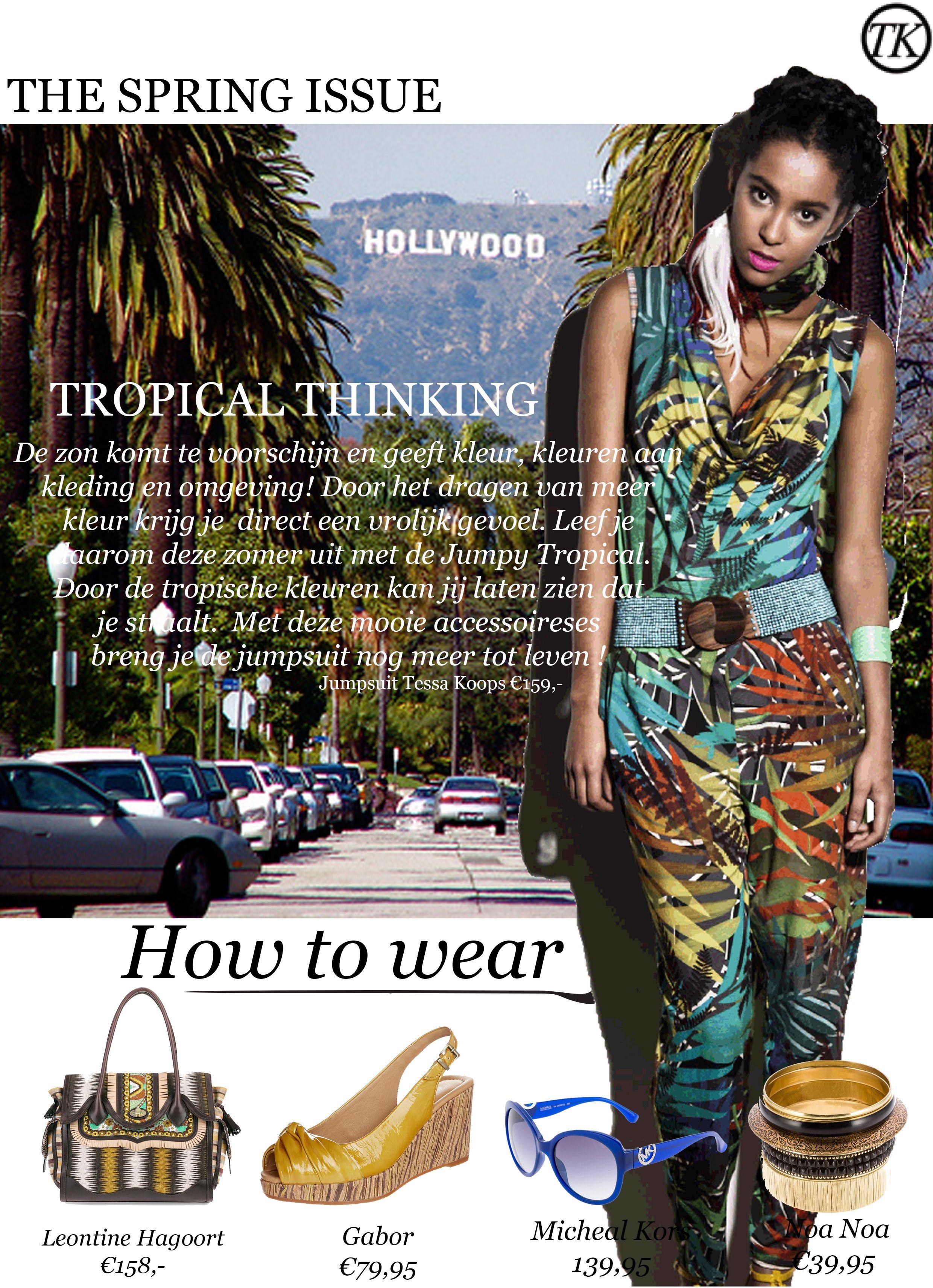 fdb817ad629 How to wear Jumpy Tropical www.tessakoops.com | TESSA ♥s SS14 ...