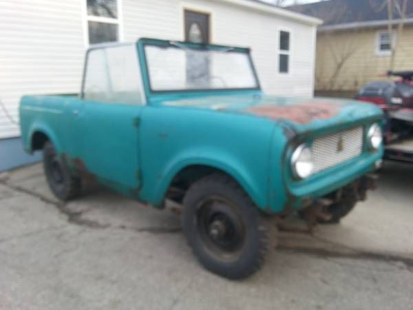 Early number Scout 80 Vin FC603 | International Harvester Scout 80