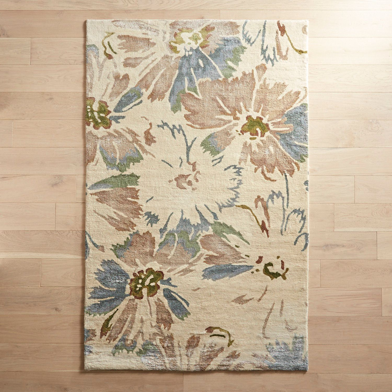 Mila Floral Rug Pier 1 Imports