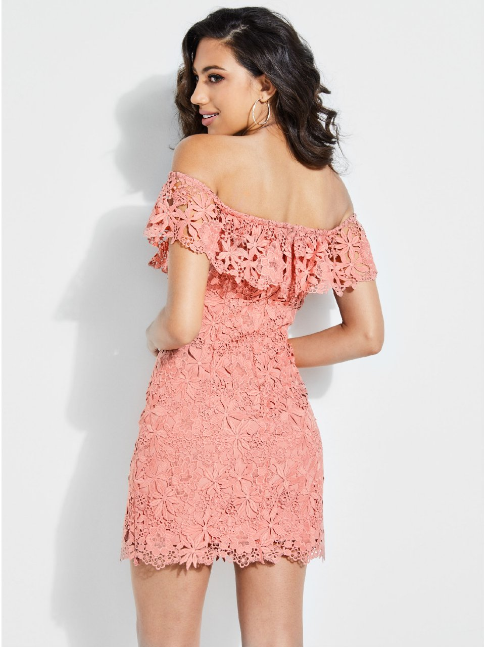 e46dda4dc25 Alla Crochet Off-The-Shoulder Dress in 2019
