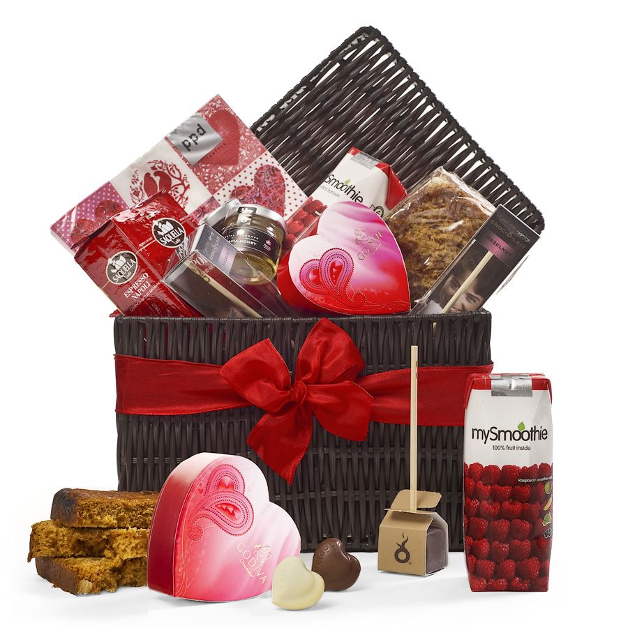 Romantic Breakfast Gift Basket Delivered In France Italian Coffee Godiva Belgian Chocolates Baru Marshmallows Valentine S Day Gift Baskets Food Gift Baskets Valentine Gift Baskets