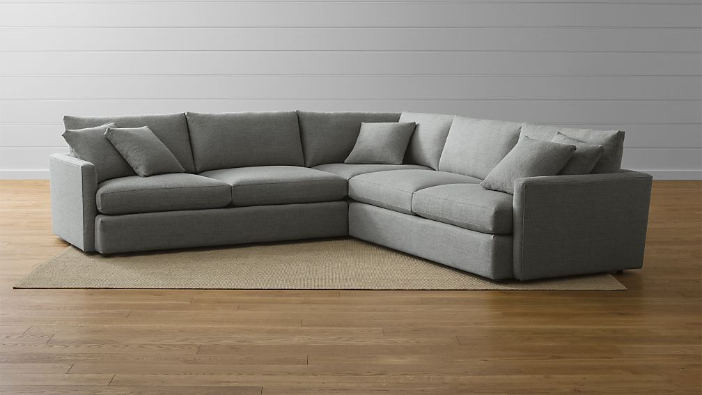 Best Lounge Ii 3 Piece Sectional Sofa Reviews Crate And 400 x 300