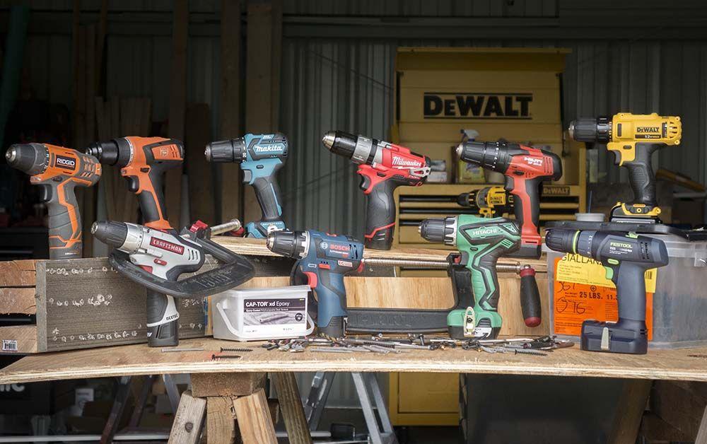 Best 12v Cordless Drill Head To Head Review Cordless Drill Drill Bike Storage Garage