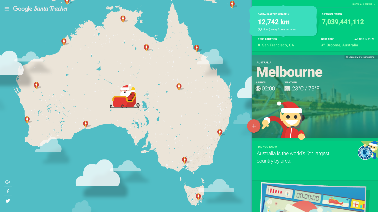 How to Track Santa's Sleigh on Christmas Eve 2018 Online