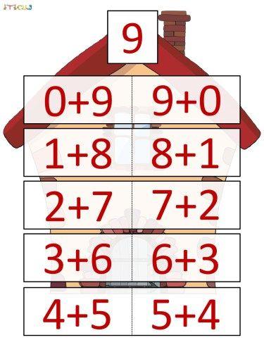 Las mejores 67 ideas de Casa de Números - Descomposición Numérica. Matémáticas | descomposición numérica, matematicas, matematicas infantil