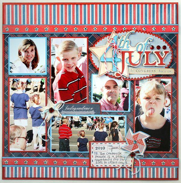 4TH OF JULY (Cricut Phrases cartridge)