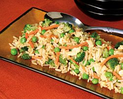 Finally, a Fried Rice recipe that is both vegetarian and gluten-free. Satisfy everybody on Meatless Mondays or any day of the week.