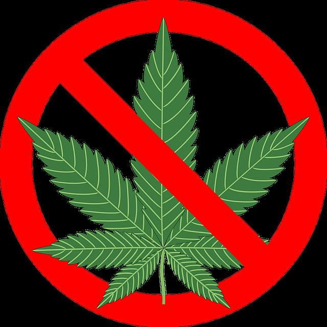 No smoking marijuana