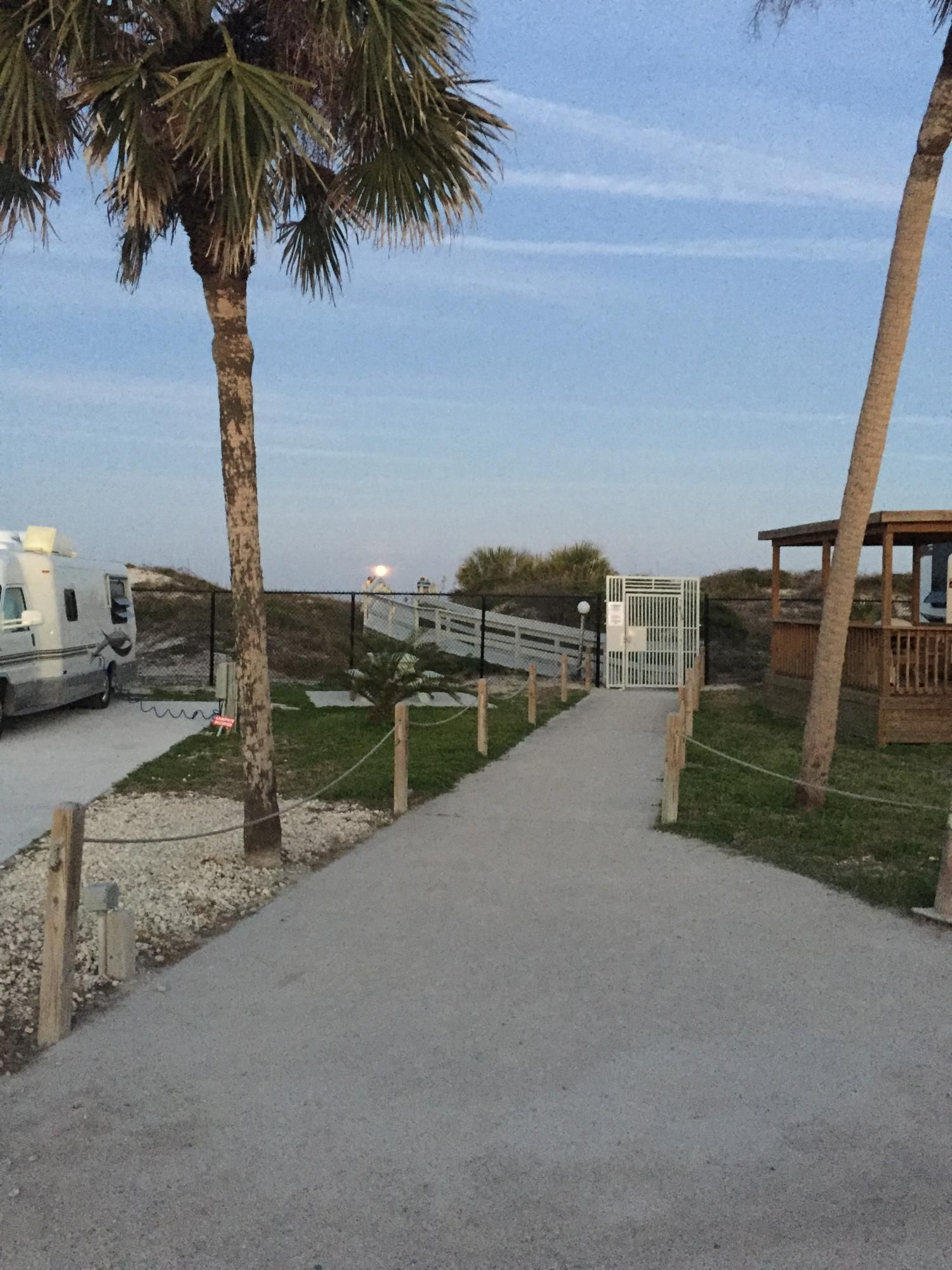 St. Augustine, Florida Rv parks and campgrounds, Ocean