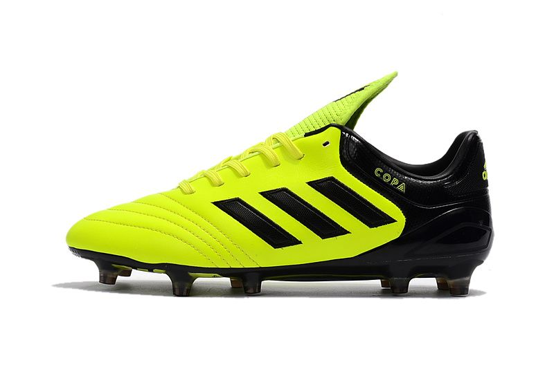 e67b410a588 2017-2018 FIFA World CUP New Soccer Cleats Adidas Copa 17 1 FG Sunny Yellow  Black
