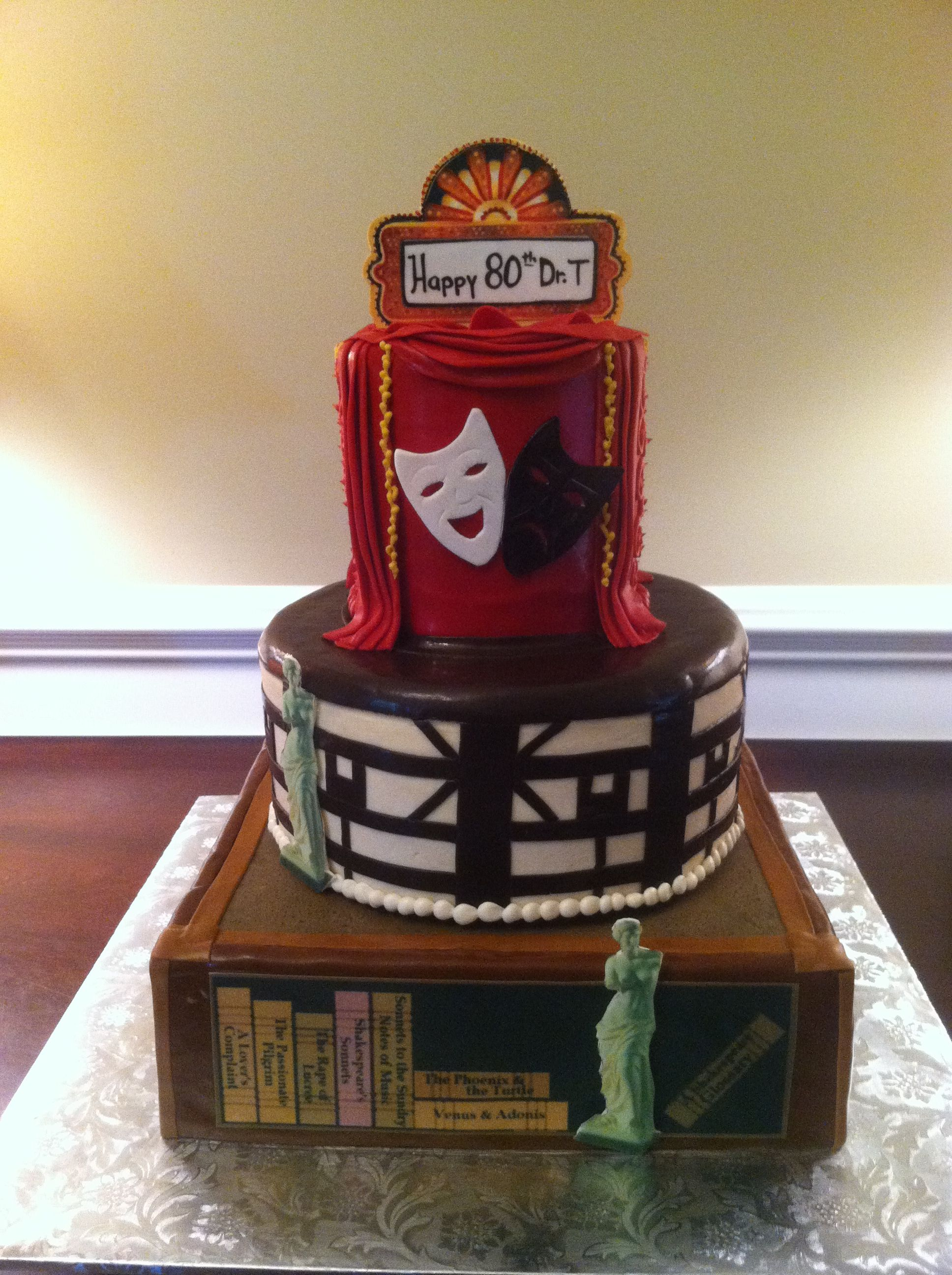 Theatre Cake My Cakes Cake Cake Decorating Cakes More