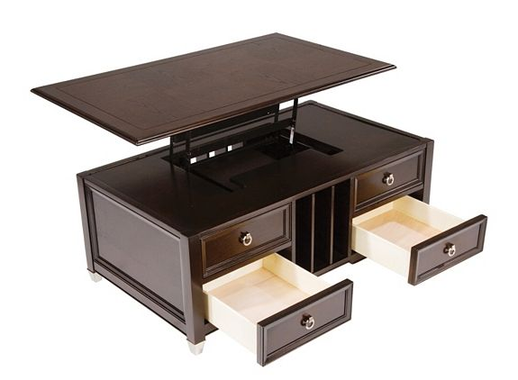 Darien Lift Top Coffee Table Home Lift Up Coffee Tables