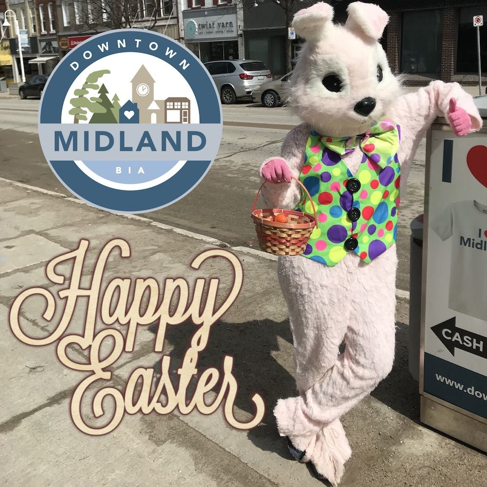 Happy Easter everyone! DowntownMidlandON (With images