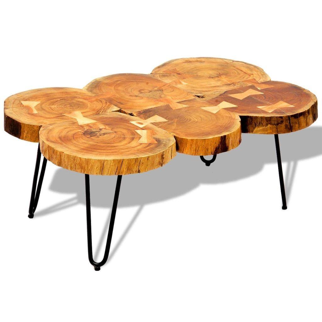 Table Basse Bois Massif Finition Ciree 6 Troncs Will Lestendances Fr Table Basse Table Basse Bois Dessus De Table En Bois