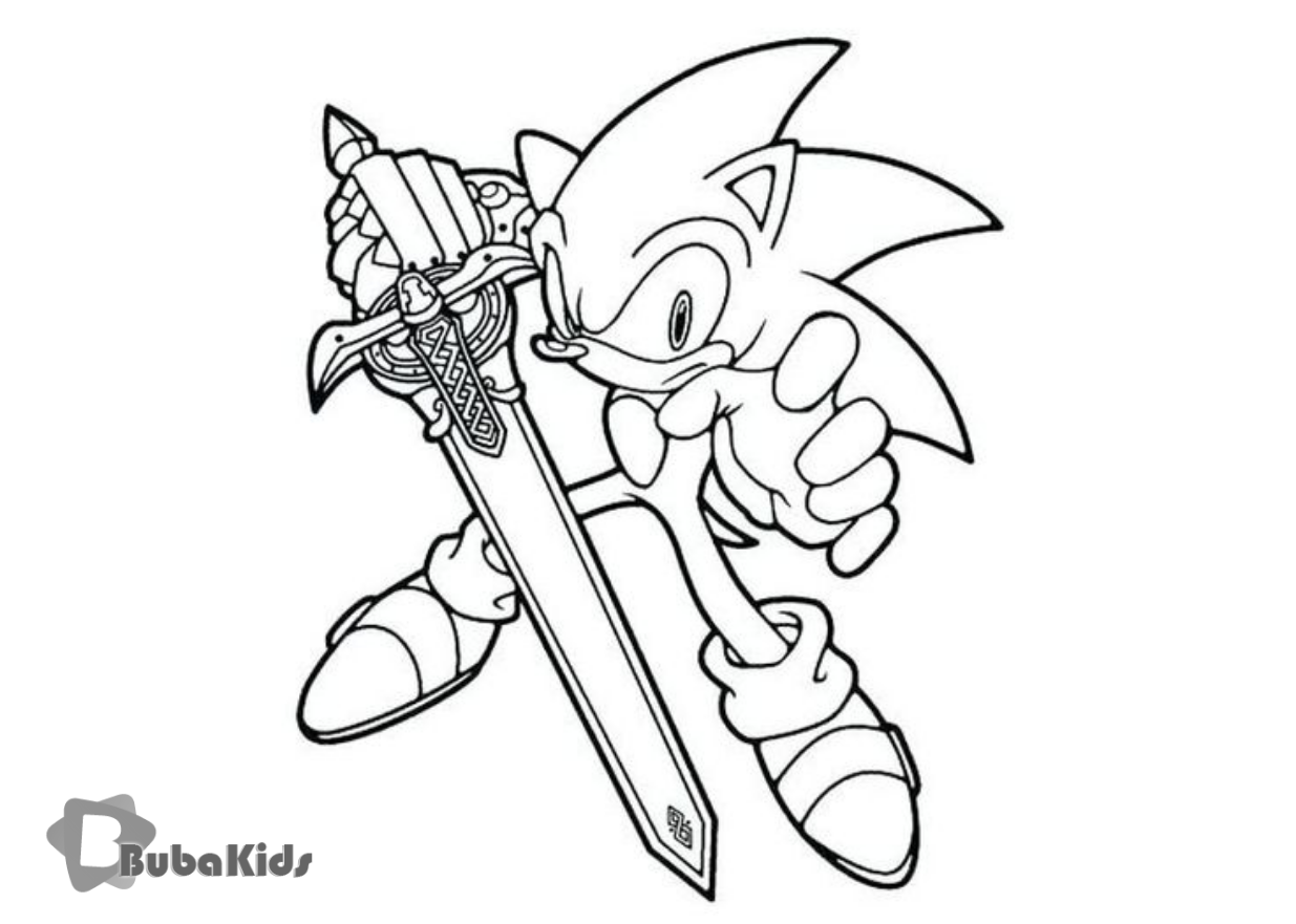 Sonic The Hedgehog Free Printable Coloring Pages On Bubakids Com Coloring Free Hedgehog Pages P Super Coloring Pages Cartoon Coloring Pages Coloring Pages