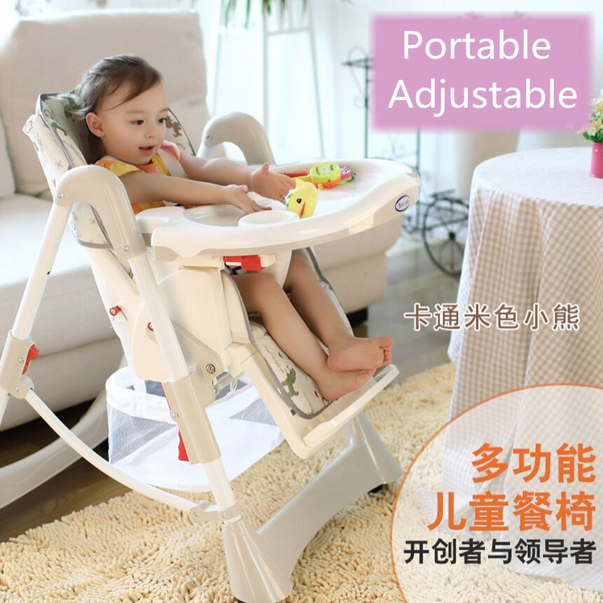 ff77c459bf47 Portable baby high chair booster seat kid infant baby dining lunch jpg  861x861 Baby portable high