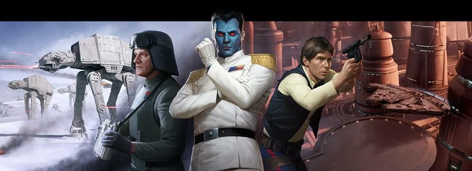 General Veers, Grand Admiral Thrawn, and Han Solo