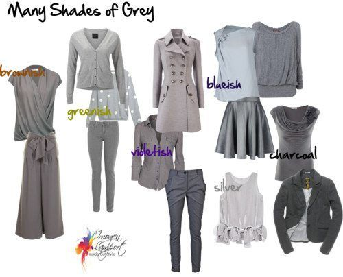 Shades Of Grey How To Pick The Right Grey Style Challenge Shades Of Grey Inside Out Style