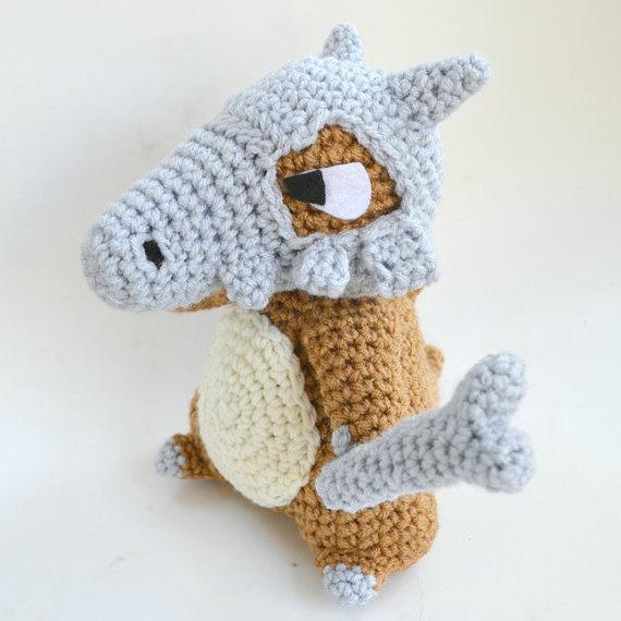 Cubone amigurumi pattern Pokemon crochet by amiamour on Etsy | Hooks ...