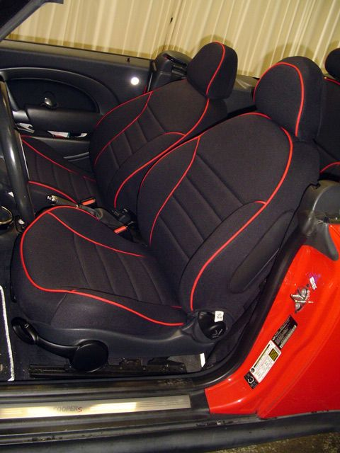 Mini Cooper Full Piping Seat Covers Seat Covers Bucket Seat Covers Car Seats