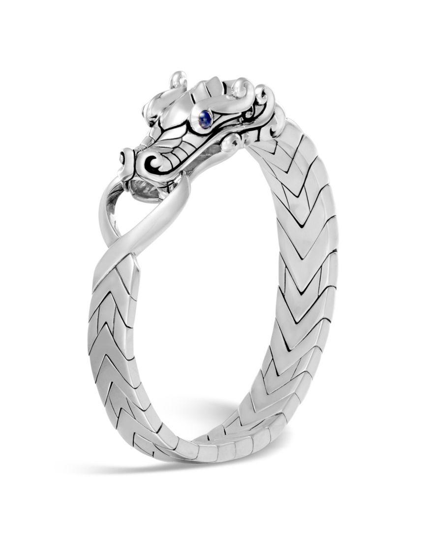 John Hardy Mens Legends Sapphire Dragon Ring bB2PrXw2