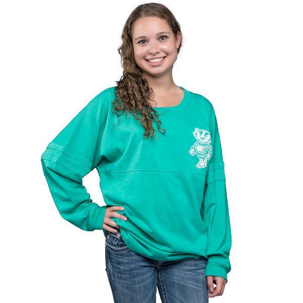 Boxercraft Women's Long Sleeve T-Shirt (Teal)   University Book ...