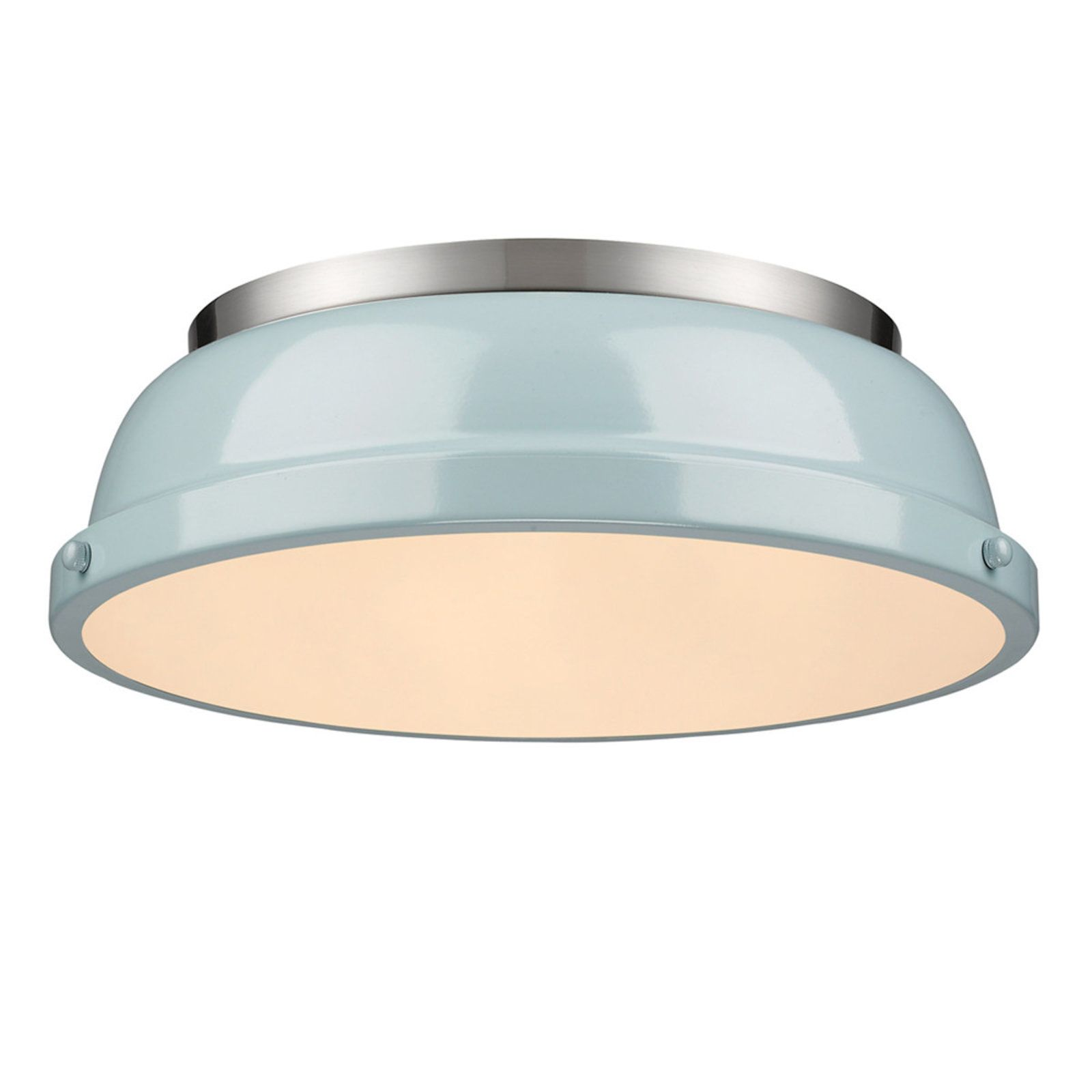 Classic Dome Enameled Ceiling Light - Shades of Light 14\