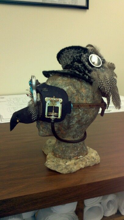 Steampunk inspired fascinator and goggles