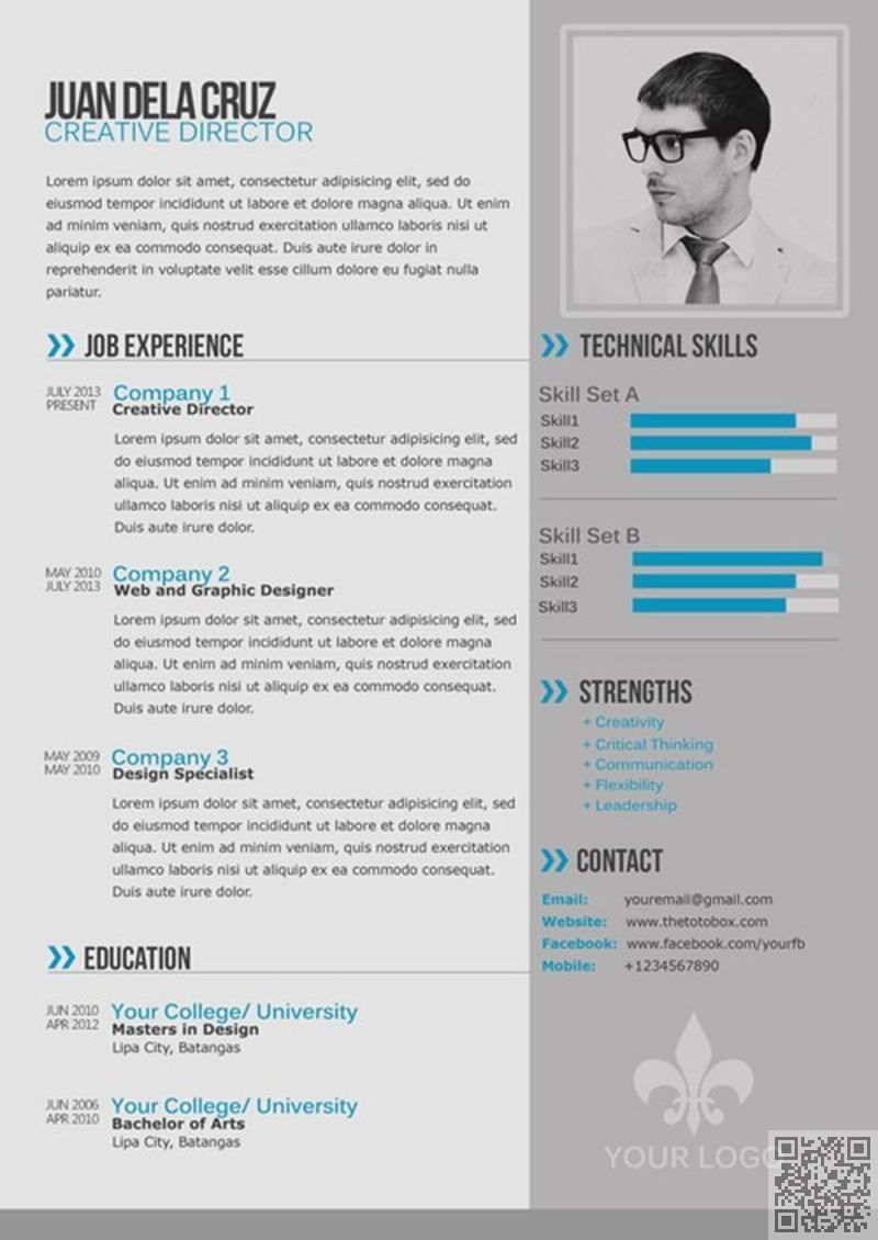 12+ Modern resume format examples Format