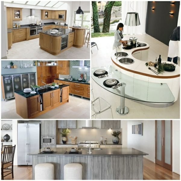 kücheneinrichtung ideen kochinsel maße moderne kücheneinrichtung - einbauküchen für kleine küchen