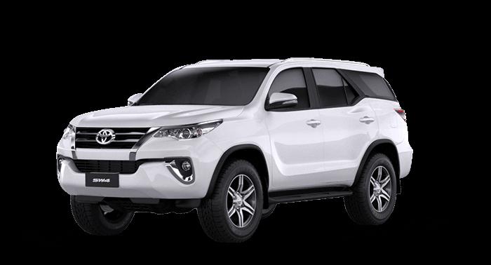 Monte a sua SW4 – Toyota