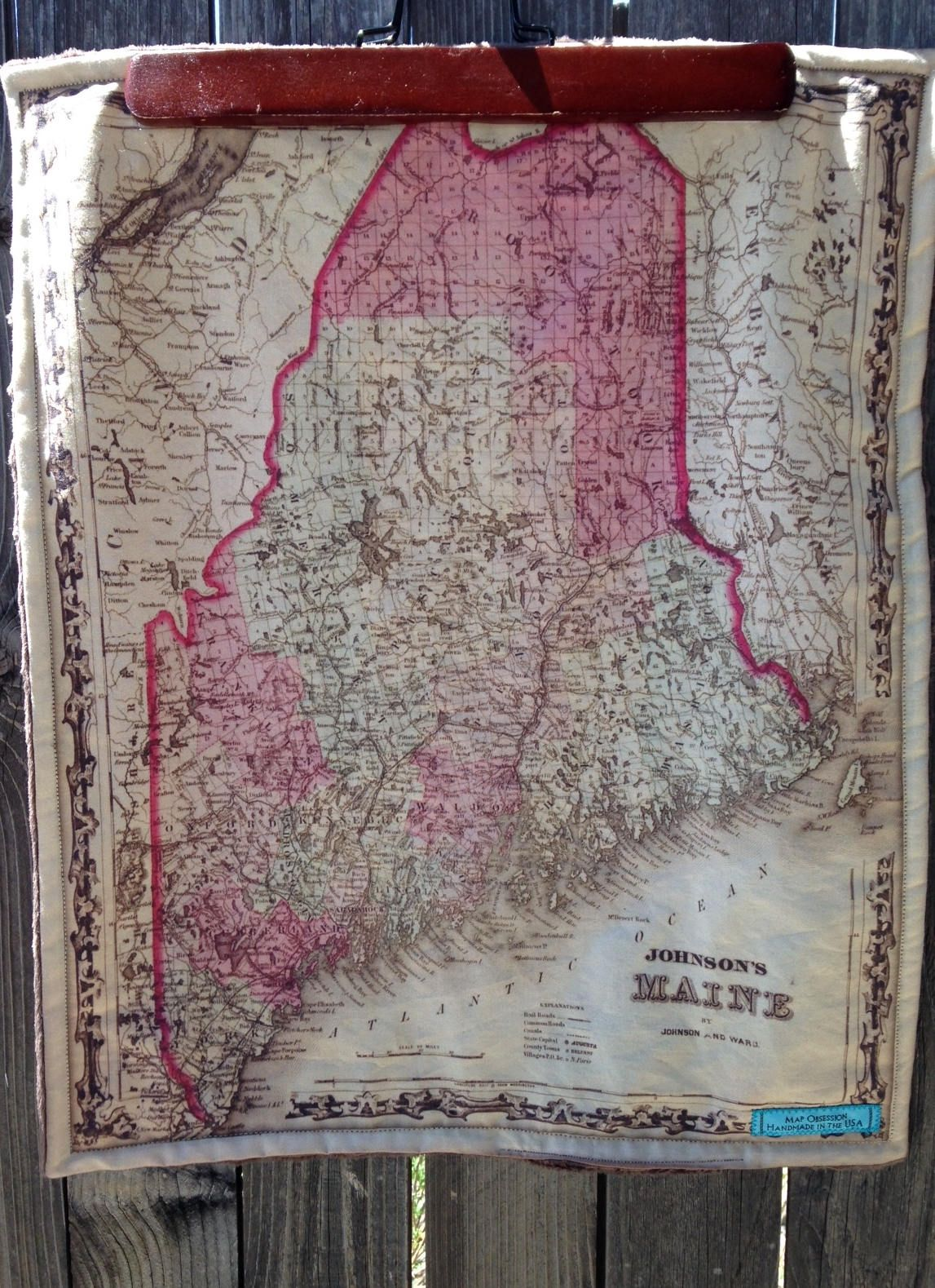 Maine map blanket me map baby minky security blankie small maine map blanket me map baby minky security blankie small travel blanky lovey woobie by 20 inch by mapobsession on etsy gumiabroncs Images