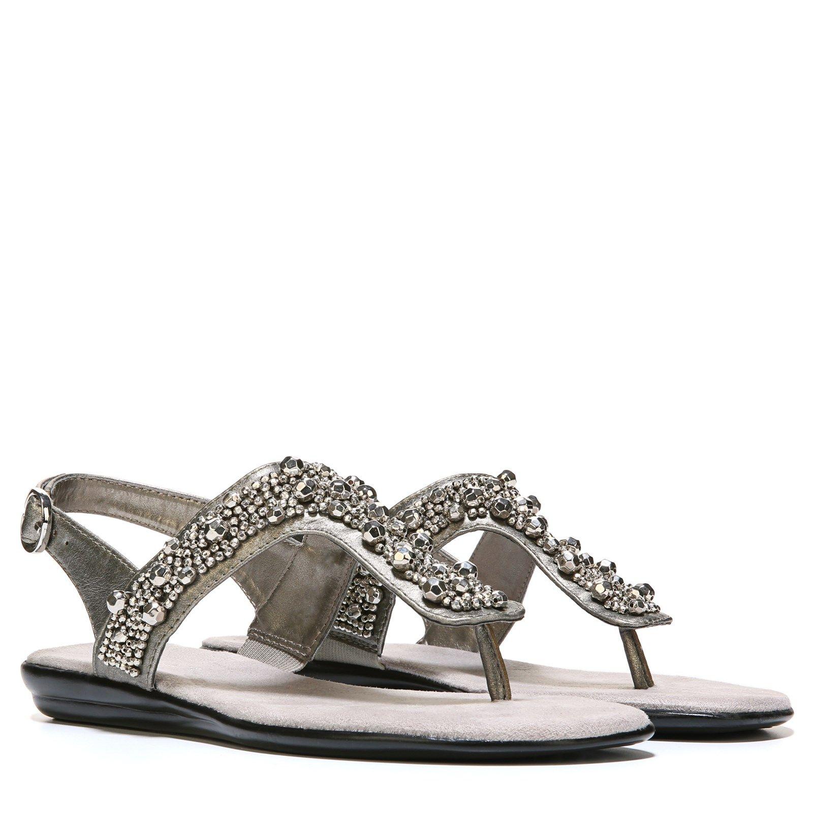 Aerosoles Crystal Chlear Sandal Silver