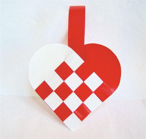Danish+Woven+Heart+Decoration
