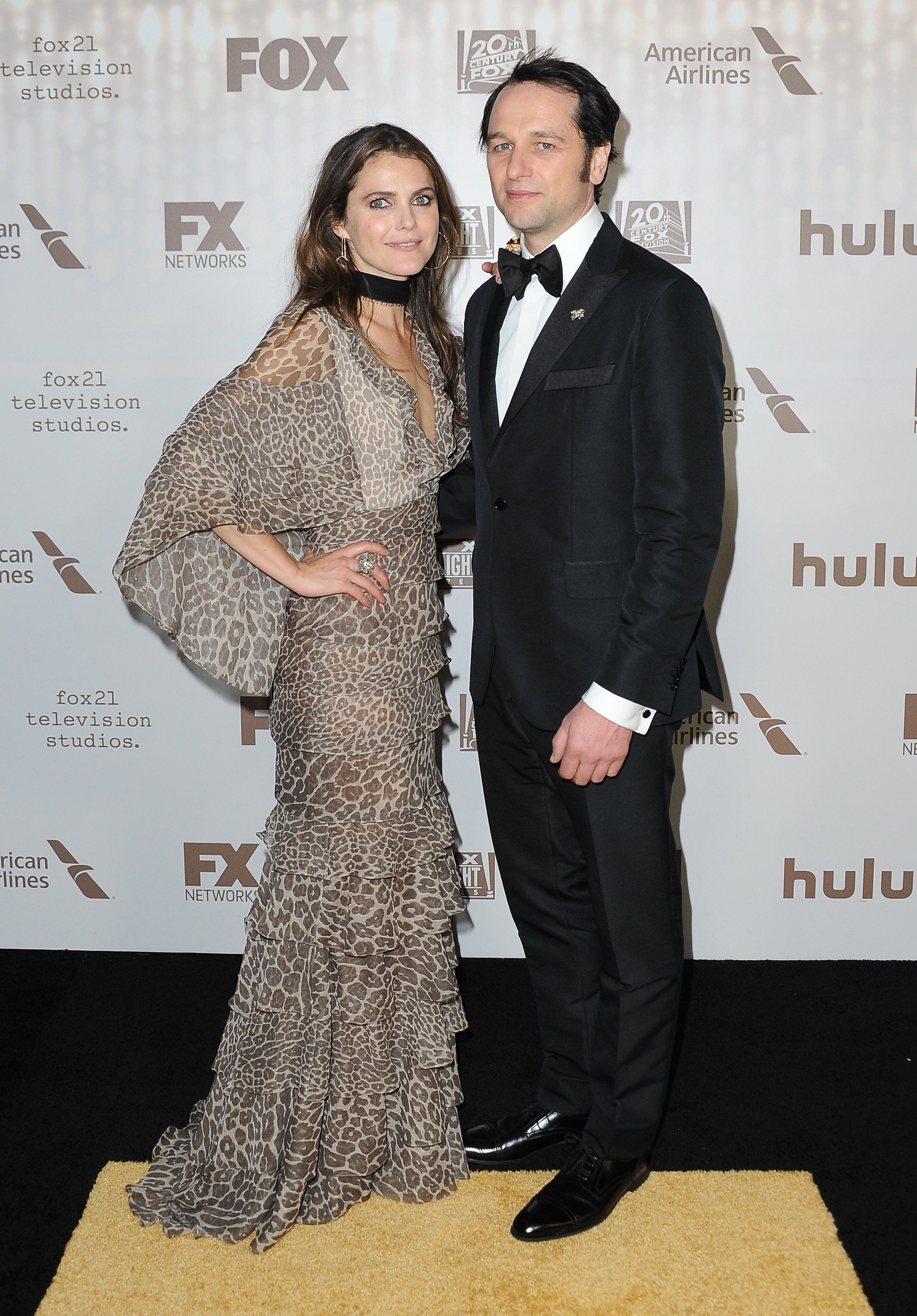 Keri Russell and Matthew Rhys Continue the Fun at a Golden ...