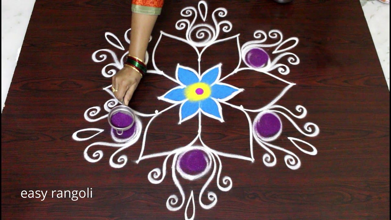 Beautiful Kolam Designs With Dots