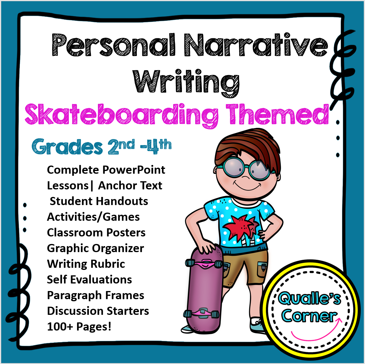 Personal Narrative Writing Unit Activities For 2nd And