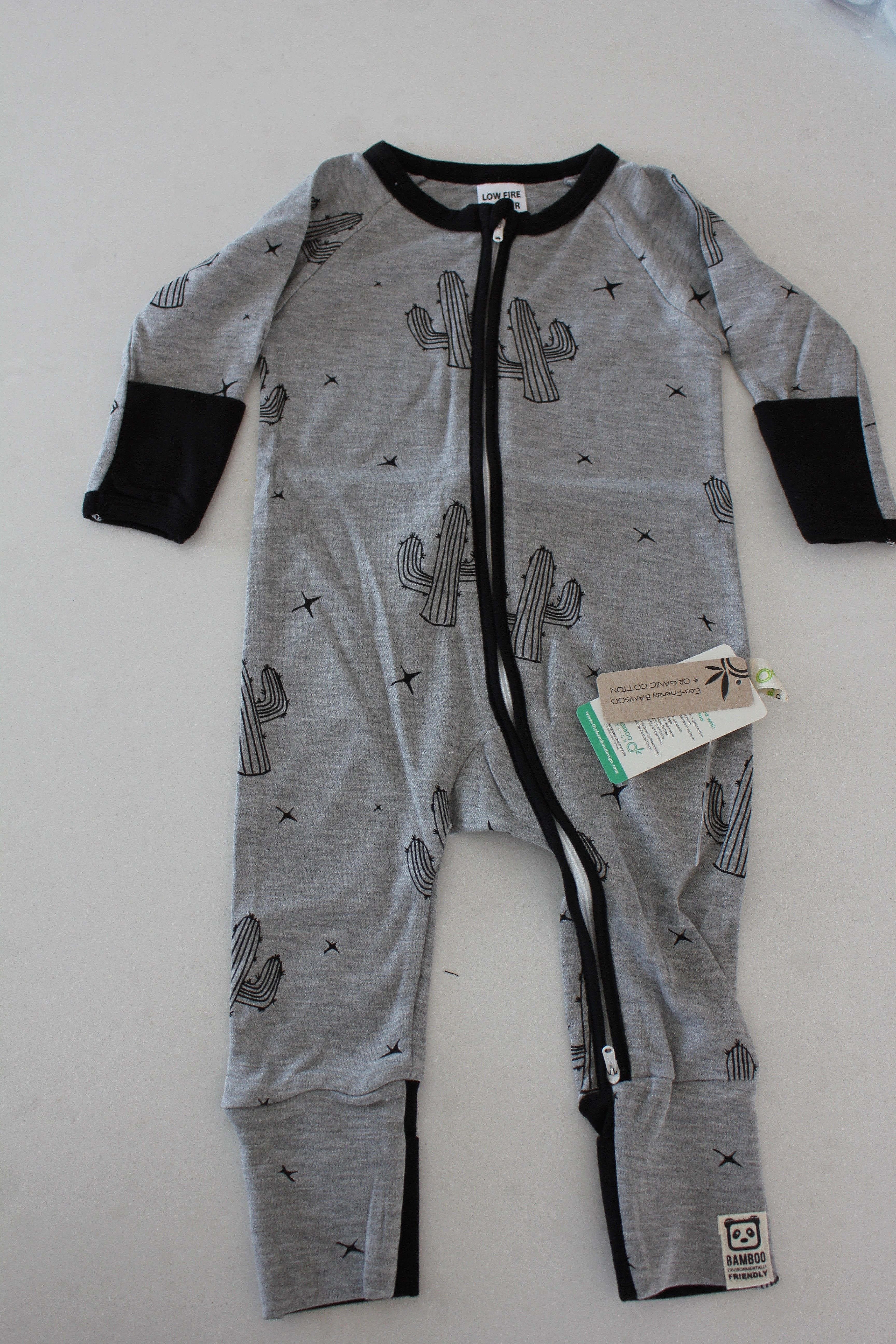 bbdb2917d Cactus Onesie Bamboo Cactus Onesie All Bamboo Design Products are ...