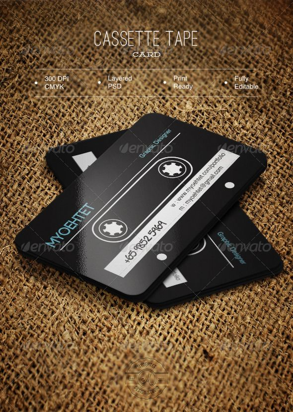 Cassette tape card graphicriver design in psd format file 352 cassette tape card graphicriver design in psd format file 352 inches bleed in 025 inches all shapes in psd shape fully editable and changeable colour reheart Image collections