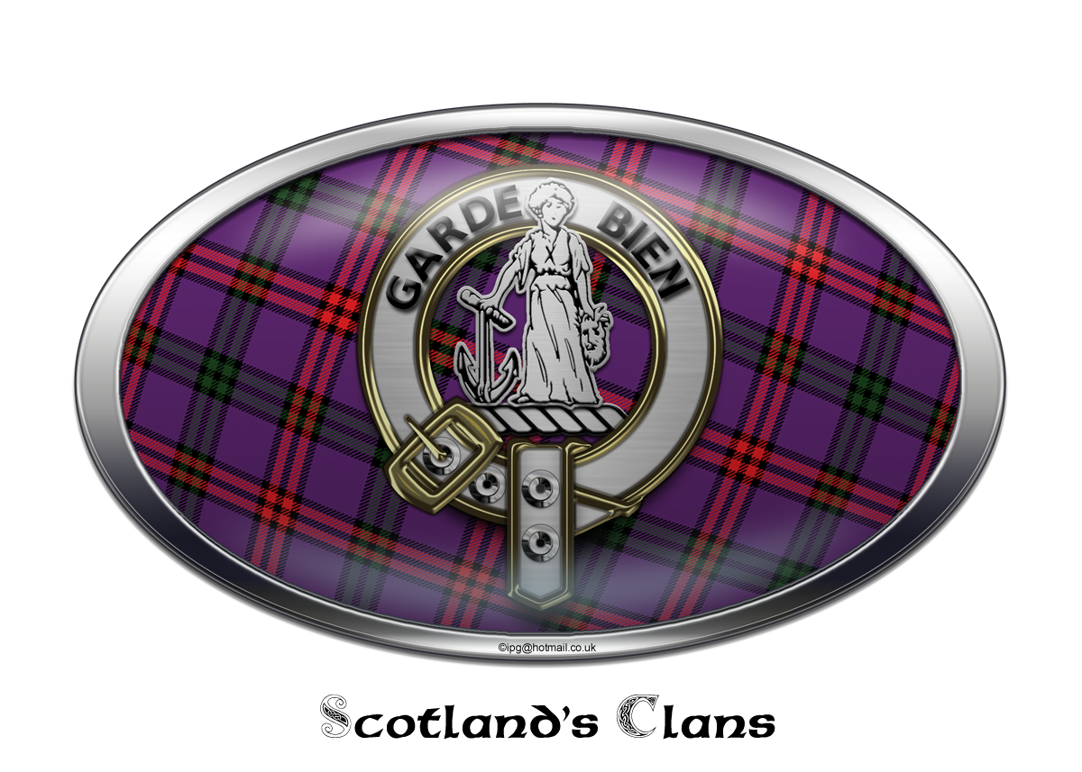 Ramsay Scottish Clan Tartan Novelty Auto Plate