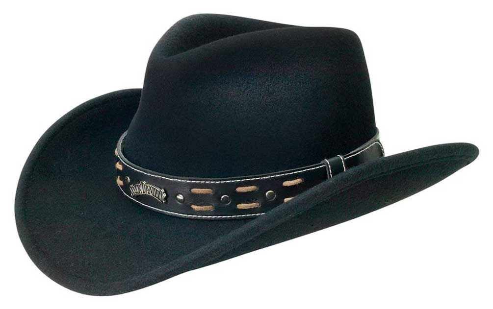 Jack Daniels Men s Two Step Soft Wool Cowboy Hat 7ec89fa0b0fb