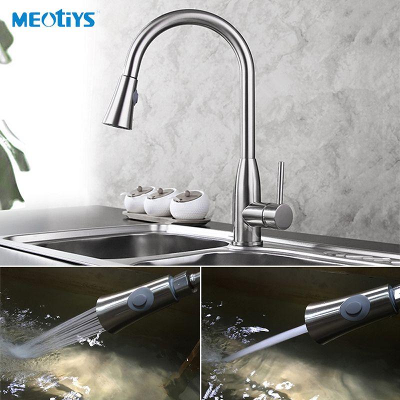 MEOTIYS Kitchen Faucet Spray Head Kitchen Sprayers Aerator ABS ...