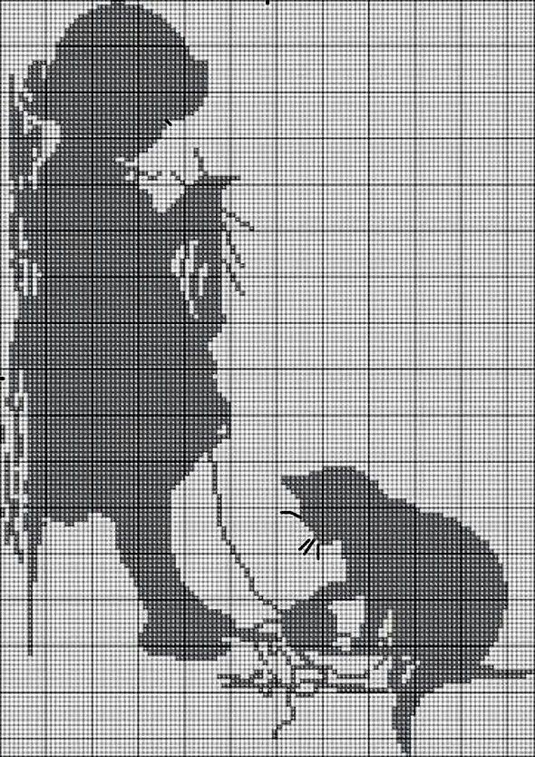 Pin de Charlotte Romero en Filet Crochet | Pinterest | Punto de cruz ...