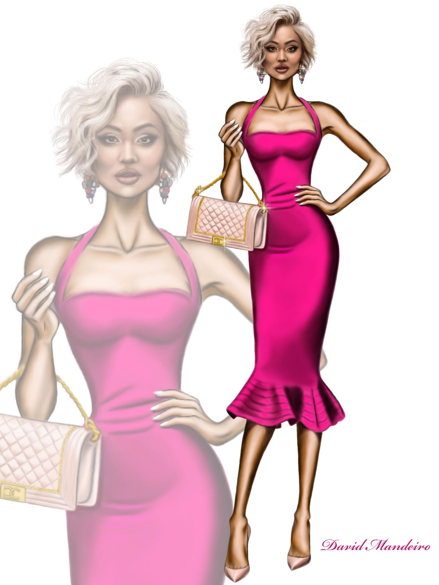 Imagen relacionada | Fashion sketches | Pinterest | Figurin, Bocetos ...