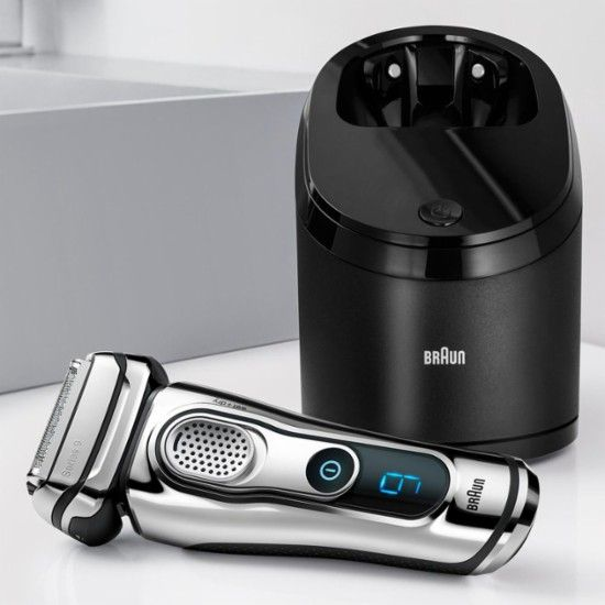 Braun Series 9 Wet Dry Electric Shaver Chrome 9295cc 9376cc Best Buy Best Electric Shaver Braun Clean And Renew Electric Shaver